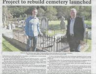 Picton Pioneer Cemetery Restoration Project